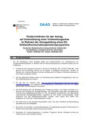 Förderrichtlinien für den Antrag_2013 - eu-DAAD