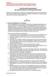 Gesamtfassung des Honorarverteilungsmaßstabes (HVM) gültig ab ...