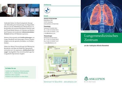 Lungenmedizinisches Zentrum - Asklepios