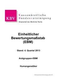 1 MB - Kassenärztliche Bundesvereinigung