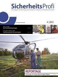 SicherheitsProfi 4/2012 - Berufsgenossenschaft für Transport und ...