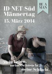 15. März 2014 - Männertag mit Dirk Schröder