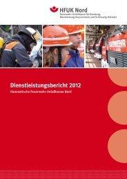 Dienstleistungsbericht 2012 - HFUK Nord