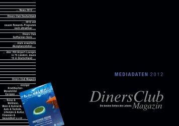 DinersClub MEDIADATEN - Diners Club Deutschland