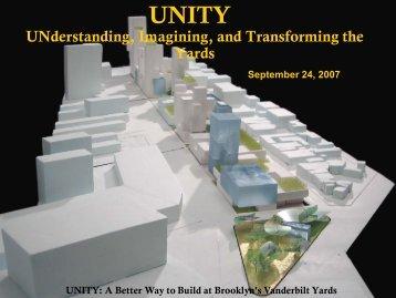 Unity Plan - Hunter College