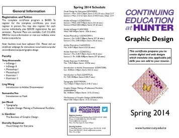 Graphic Design - CUNY