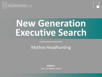 Studie Universität Ingolstadt - Hunting Heads Executive Search ...