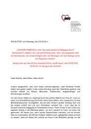 SCHULPOST vom Dienstag, dem 03.05.2011 ... - AWO Rudolstadt