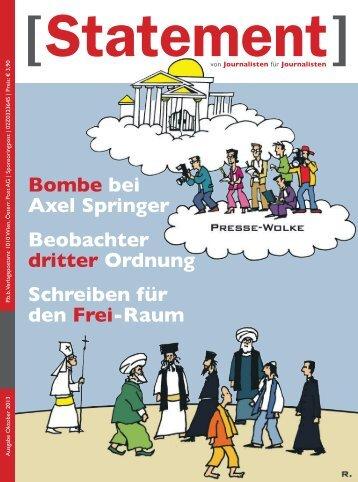 Oktober 2013 - Österreichischer Journalisten Club
