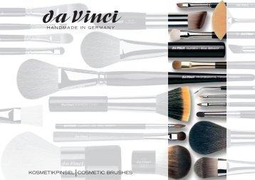Sie können den Katalog hier als PDF downloaden. - da Vinci