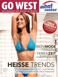 HEISSE TRENDS - Auhofcenter