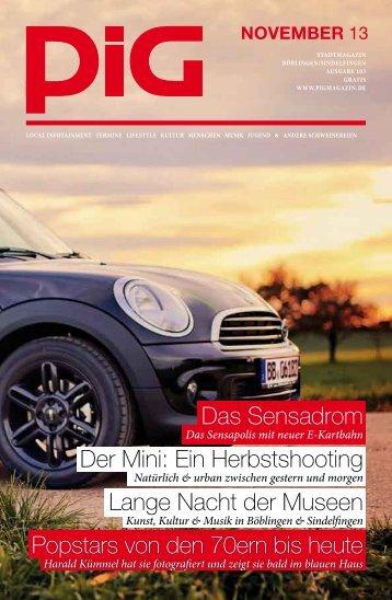 Das Sensadrom Der Mini: Ein Herbstshooting Lange ... - PIGmagazin