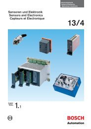 Sensoren und Elektronik Sensors and ... - Airline Hydraulics
