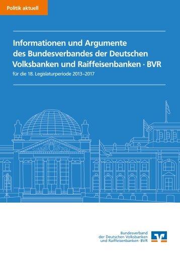 Positionspapier - Bundesverband der Deutschen Volksbanken und ...