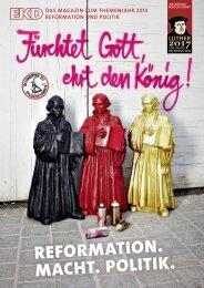 Reformation. Macht. Politik - Evangelische Kirche in Deutschland