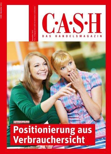 Positionierung aus Verbrauchersicht - Cash