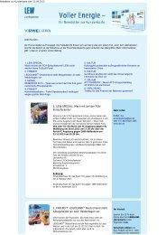Aktueller Newsletter - Easy Living
