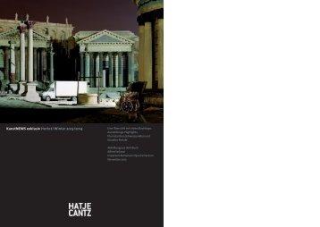 KunstNews 2/2013 - Hatje Cantz Verlag