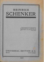 Katalog der Universal Edition