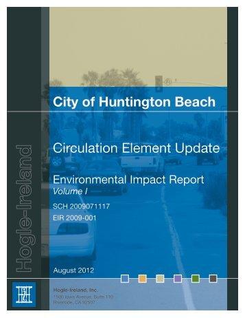 City of Huntington Beach Circulation Element Update