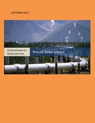 PIPELINE SAFETY UPDATE - Homeland Security Digital Library