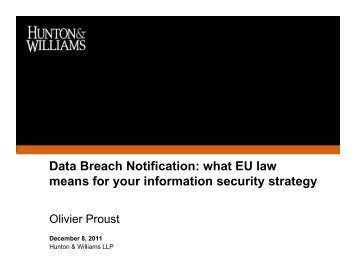 Data Breach Notification: what EU law means for your information ...