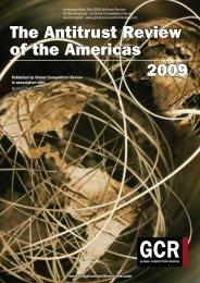 Global Cartel Enforcement - Hunton & Williams