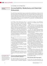 Accountability: Bedeutung und Stand, Datenschutz-Berater ...