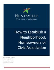 How to Establish a Neighborhood, Homeowners or Civic Association