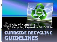 Updated Recycling Guidelines Presentation (PDF format) - City of ...