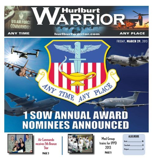 Med Group trains for IPPD 2013 Air Commando ... - Hurlburt Warrior