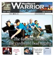 The fast, the furious, the cardboard boat regatta - Hurlburt Warrior