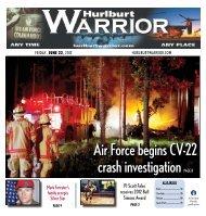 air Force begins cV-22 crash investigation Page 8 - Hurlburt Warrior