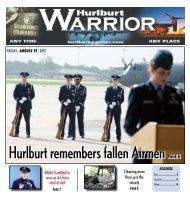 Hurlburt remembers fallen airmen Page 6 - Hurlburt Warrior