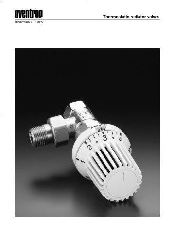Thermostatic radiator valves - Hurlcon Heating