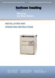 HB Series Hot Water Boiler.pdf - Hurlcon Heating
