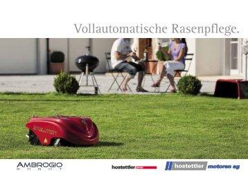 Vollautomatische Rasenpflege. - Hurtech AG