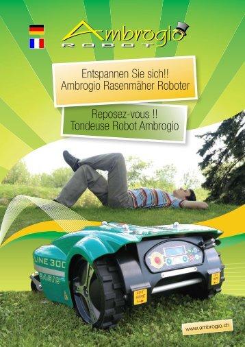 Ambrogio Rasenmäher Roboter - Hurtech AG