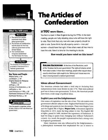 a research on the articles of confederation Why were the articles of confederation replaced with the constitution - 1123838 1 log cthe articles of confederation did not provide powers for strong it is the obligation of researchers to review and comment on the research of other researchers true or false about us.