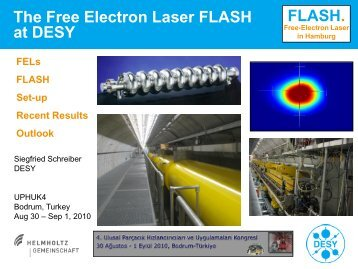 The Free Electron Laser FLASH at DESY