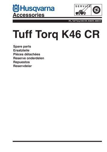 IPL, Tuff Torq K46 CR, K46CR, 2009-01, Transmission - Husqvarna