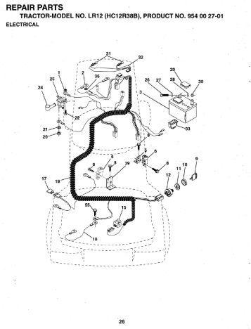 ipl, lt130, hclt130a, 1992-04, tractors/rider mowers