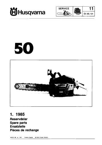 IPL, 50, 1985-02, Chain Saw - Husqvarna