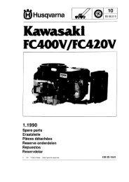 IPL, Kawasaki FC 400 V, FC 420 V, 1990-01, Lawn ... - Husqvarna