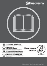 om, pg530, 2007-10, lawn mowers: consumer walk ... - Husqvarna
