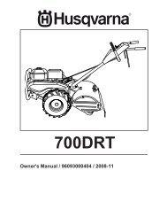 OM, 700 DRT, 96093000404, 2008-11, Tiller - Husqvarna