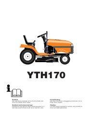 OM, YTH170, HEYTH170A, 2002-01, SE, DK, NO, FI - Husqvarna