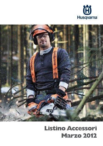 Listino Accessori Marzo 2012 - Husqvarna