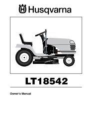 OM, LT 18542 A, 954571748, 2003-11, Ride Mower - Husqvarna