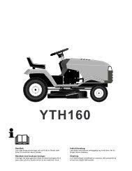 OM, YTH160, 1999-01, SE, NO, DK, FI - Husqvarna